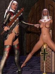 Erotic 3D BDSM Comix